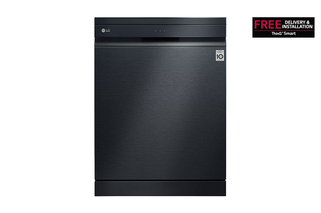 DFB325HM LG Matte Black QuadWash™ Steam Dishwasher